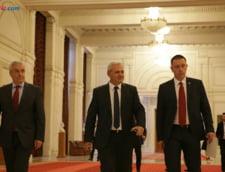 Dragnea si Tariceanu la motiunea de cenzura