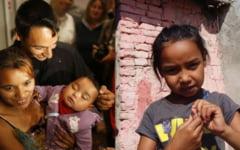 Drama Denisei, fetita de etnie roma care a fost rapita din spital de o romanca din Elvetia, salvata si redata familiei, dar este condamnata la saracie