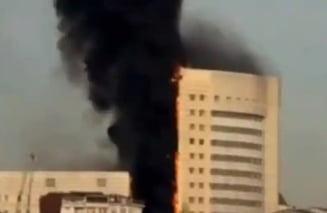Drama de proportii in Egipt. Sapte pacienti COVID, morti intr-un incendiu la un spital din Cairo