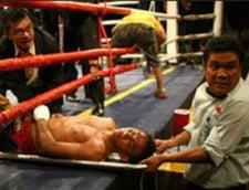 Drama teribila in box: A murit in ring (Video infiorator)
