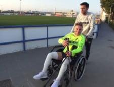 Drama unuia dintre cei mai talentati fotbalisti romani: A fost capitan la Real, dar nu mai joaca de un an