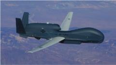 Drona americana de spionaj surprinsa la granita dintre Rusia si Ucraina. Zona mai este vizitata de avioane britanice VIDEO