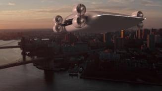 Drona pentru pasageri, proiect in premiera mondiala. Care sunt rutele pe care va merge aeronava SF VIDEO