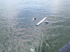 Drona uriasa gasita in Marea Neagra de un echipaj al Agentiei Romane de Salvare a Vietii Omenesti pe Mare VIDEO
