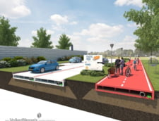 Drumurile ar putea fi pavate in curand cu materiale din plastic reciclat sau alge