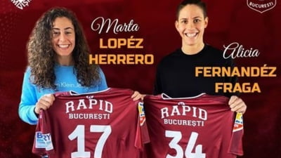 Dubla lovitura pentru clubul Rapid. Se naste o noua forta in handbalul feminin romanesc