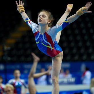 Dubla medaliata europeana la gimnastica, in pericol sa rateze Campionatele Mondiale, dupa o accidentare
