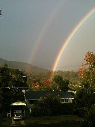 Dublu curcubeu, la Brisbane! O minune a cerului? (Video)
