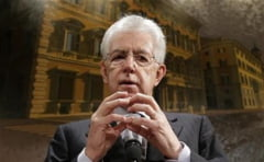 Duelul premierilor in Italia: Monti il ataca pe Berlusconi