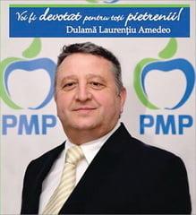 Dulama Laurentiu Amedeo - Voi fi devotat tuturor pietrenilor! Candidatul PMP la primarie vrea sa recreeze farmecul orasului Piatra-Neamt