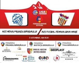Duminica, Bargau Arena: Heniu Prundu Bargaului - Fotbal Feminin Prundu Bargaului