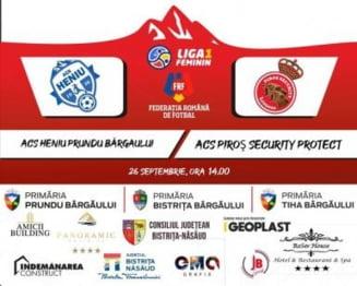 Duminica, ora 14. ACS Heniu Prundu Bargaului - Piros Security Protect!