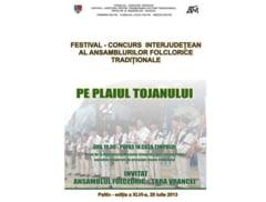 """Duminica are loc Festivalul """"Pe Plaiul Tojanului"""" de la Paltin"""