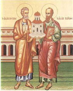 Duminica este Lasata Secului pentru postul Sfintilor Apostoli Petru si Pavel