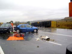 Duminica neagra: 8 accidente pe soselele Sibiului