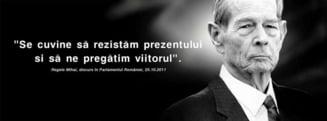 Duminica romanii ies la un protest inspirat de cuvintele regelui Mihai