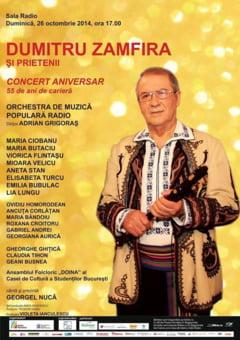 Dumitru Zamfira sarbatoreste 55 de ani de cariera