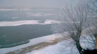 Dunarea, blocata de gheata in mai multe tari