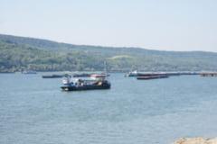 Dunarea a depasit cotele de inundatie la Calafat si Bechet