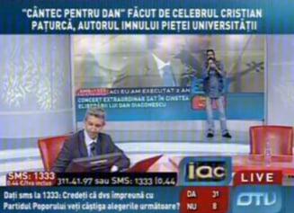 """Dupa """"Imnul golanilor"""", Paturca i-a compus un imn si lui Dan Diaconescu"""