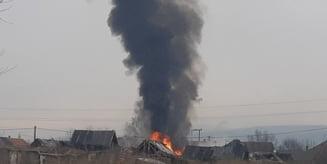 Dupa 3 luni de la incendiul din comunitatea roma, a fost din nou panica la Sumuleu Ciuc