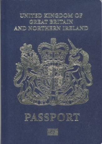 Dupa Brexit, britanicii revin la pasaportul albastru: O ocazie unica sa restauram identitatea nationala