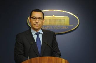 Dupa Iohannis, si Ponta critica votul in cazul lui Vosganian: O mare greseala!