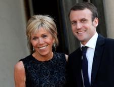Dupa ce a inflamat Franta, Macron renunta la planurile de statut special pentru sotia lui