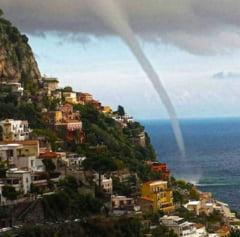 Dupa cutremure, Italia este lovita de tornade: 2 morti, zeci de raniti (Video)