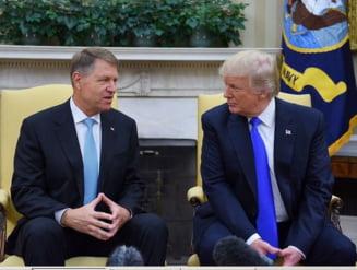 """Dupa intalnirea cu Trump, Iohannis spera ca """"vom avansa"""" cu ridicarea vizelor pentru SUA"""