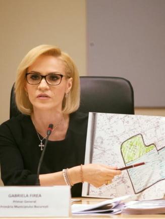 Dupa scandalul logo-ului plagiat, Firea nu mai stie de gluma si ameninta internautii cu tribunalul (Foto)