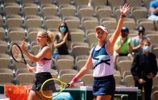E jucatoarea momentului in tenis! Krejcikova a castigat si la dublu la Roland-Garros