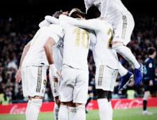 E nebunie la Madrid. Real a castigat titlul in Spania, in dauna Barcelonei
