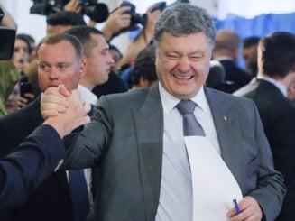 E oficial: Petro Porosenko e presedintele Ucrainei