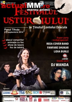 E party in Tinutul Contelui Dracula! Noaptea, se incing spiritele la Festivalul Usturoiului!