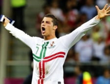 EURO 2012: Reactia lui Cristiano Ronaldo dupa ce a calificat Portugalia in semifinale