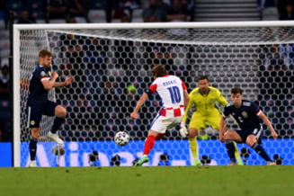 EURO 2020: Croatia s-a calificat in optimi dupa un meci fabulos cu Scotia. Anglia termina grupa pe primul loc