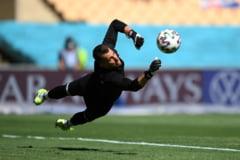 EURO 2020: Incredibil asa ceva! Autogol de cascadorii rasului in meciul Slovacia - Spania VIDEO ULUITOR