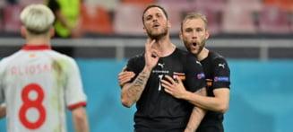 EURO 2020: Macedonia de Nord face scandal mare la UEFA dupa gesturile austriacului Arnautovic de pe National Arena