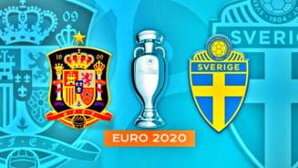 EURO 2020: Statistica uluitoare la meciul Spania - Suedia! Ce s-a intamplat in primele 20 de minute ale partidei