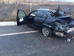 EXCLUSIV: Accident cu trei victime pe soseaua de centura! - FOTO