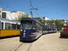 EXCLUSIV Tramvaiele care vor circula in CUG stau ascunse in depoul RATP!
