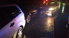 EXCLUSIV Un sofer baut a facut praf un BMW si un Ford Focus, la Letcani VIDEO/FOTO