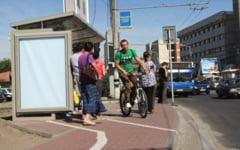 EXPERIMENT inedit si util iesenilor: Bicicleta, mai iute ca masina sau autobuzul