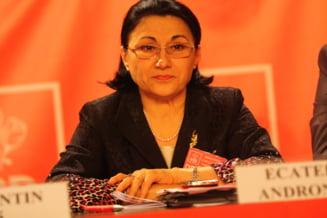 Ecaterina Andronescu - aleasa presedinte al Organizatiei PSD Bucuresti