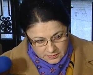 Ecaterina Andronescu, despre demisiile parlamentarilor: O solutie posibila