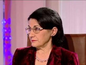 Ecaterina Andronescu, despre protestele romanilor: Nu este o imagine pozitiva, toata lumea are de pierdut
