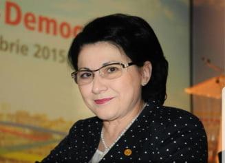 Ecaterina Andronescu, dupa afirmatiile lui Dragnea despre #Colectiv: Este teribil de grav