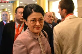 Ecaterina Andronescu, in Senat: Cea mai neagra perioada a vietii mele, n-o voi putea sterge