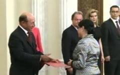 Ecaterina Andronescu a depus juramantul cu emotii - ce i-a zis Basescu